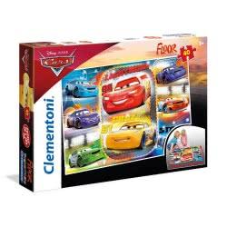 Clementoni Puzzle Super Color 40 Cars 3 1200-25455 8005125254552