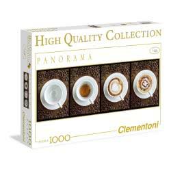 Clementoni Παζλ 1000 H.Q. Πανοραμα - Caffe 1220-39275 8005125392759