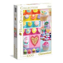 Clementoni Παζλ 1000 H.Q. Γλυκά Donuts 1220-39419 8005125394197