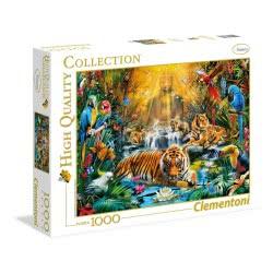 Clementoni Παζλ 1000 H.Q. Mystic Tigers 1220-39380 8005125393800