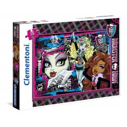 Clementoni Puzzle 500 H.Q. Monster High Beast Friends 4 Ever 1220-30385 8005125303854