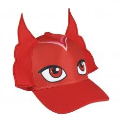 Loly Καπέλο PJ-Masks Πιτζαμοήρωες Ολέτ (Owlette) - Κόκκινο 2200002884 8427934182732