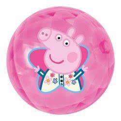 John Light Up Ball 100Mm Peppa Pig - 2 Designs 52146 4006149521464