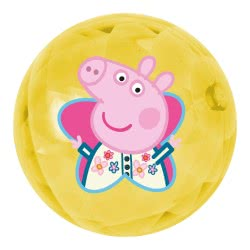 John Light Up Ball 100Mm Peppa Pig - 2 Designs 52146 4006149521464