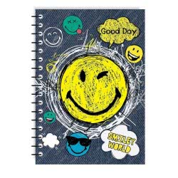 MUST Spiral Notebooks Smiley World Α4 4 Subjects 128 Sheets - 4 Designs 000504738 5205698427299