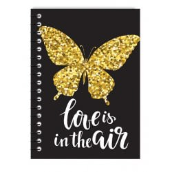 MUST Spiral Notebook Cute 4 Subjects 128 Sheets - 4 Designs 000042074 5205698437762