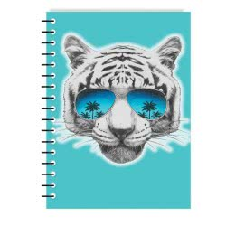 MUST Spiral Notebook Cool Friends 4 Subjects 128 Sheets - 4 Designs 000041187 5205698436871