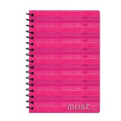 MUST Spiral Notebook 3 Subjects 96 Sheets - 3 Designs 000579452 5205698405617