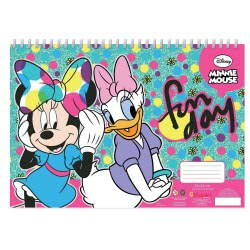 Diakakis imports Minnie Mouse Painting Block 40 Sheets With Stencil - 2 Designs 000562230 5205698420917