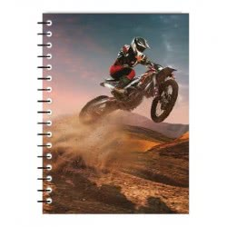 Diakakis imports Spiral Notebook Brake The Rules 3 Subjects 96 Sheets - 4 Designs 000041174 5205698436482