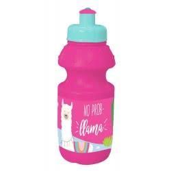 Diakakis imports No Prob Llama Water Canteen 350 Ml - Pink 000579660 5205698437830