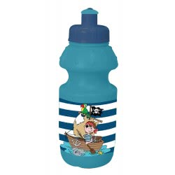 Diakakis imports Water Canteen 350 Ml Pirate - Blue 000579661 5205698437861