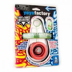 yoyo factory YO-YO Velocity Red 45116 4260243451168