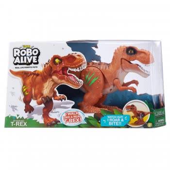 ZURU Robo Alive Electronic Dinosaur T-Rex - 2 Colours 1863-27110 6946441307442