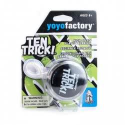yoyo factory YO-YO Ten Trick Clear Black 12105 4260243121054