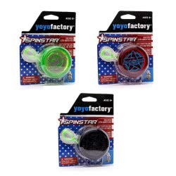 yoyo factory YO-YO Spinstar Black, Green, Red 18233 4260243182338