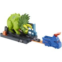 Mattel Hot Wheels Smashin Triceratops Play Set GBF97 887961713954