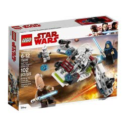 LEGO Star Wars Πακέτο Μάχης Jedi Και Clone Troopers 75206 5702016109993