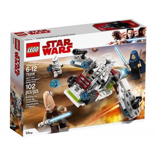 LEGO Star Wars Πακέτο Μάχης Jedi και Clone Troopers 75206 5702016109993