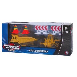 As company Σκαπτικά Παιδικά Αυτοκινητάκια 1:43 Big Builders Teamsterz 7535-70226 5050837022619