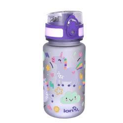 ion8 Leak Proof Water Bottle, BPA Free, 350Ml / 12Oz, Purple, Unicorns ION83-FPPUNIC 619098082685