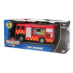 As company ΟΧΗΜΑ FIRE ENGINE ΜΕ ΦΩΣ ΚΑΙ ΗΧΟ 1:43 TEAMSTERZ 7535-70239 5050837023913