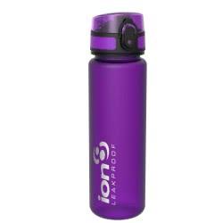 ion8 Leak Proof Water Bottle, BPA Free, 500Ml / 18Oz, Purple ION-00FPURQ 619098082616