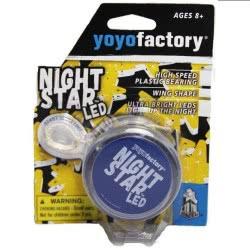 yoyo factory YO-YO Night Star Led Clear Blue 18201 4260243182017