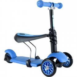 YVolution Scooter Y Glider 3 In 1 - Blue 53.100071 810118021282