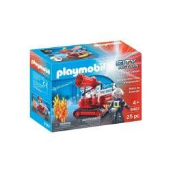 Playmobil City Action Πυροσβεστικό Κανόνι Νερού 9467 4008789094674