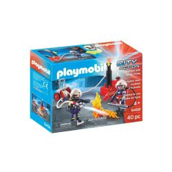 Playmobil City Action Firefighters With Water Pump 9468 4008789094681