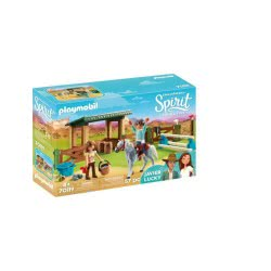 Playmobil Spirit Riding Free Riding Arena With Lucky & Javier 70119 4008789701190