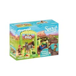 Playmais Spirit Riding Free Snips And Senor Carrots With Horse Stall 70120 4008789701206