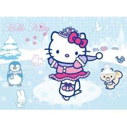 Clementoni ΠΑΖΛ 104 GLITTER Hello Kitty ice skating 1211-20023 8005125200238