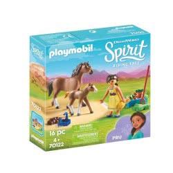 Playmobil Spirit Riding Free H Πρου Με Άλογο Και Πουλάρι 70122 4008789701220