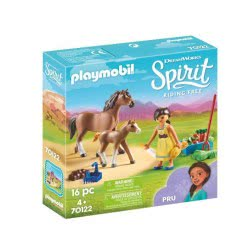 Playmobil Spirit Riding Free Pru With Horse And Foal 70122 4008789701220