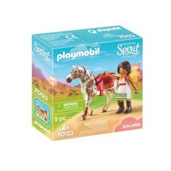 Playmobil Spirit Riding Free Η Ακροβάτης Σολάνα 70123 4008789701237