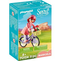 Playmobil Spirit Riding Free Maricela With Bicycle 70124 4008789701244