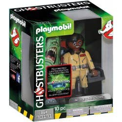 Playmobil Ghostbusters Collection Figure W. Zeddemore 70171 4008789701718