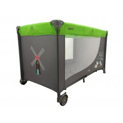 just baby Παρκοκρέβατο Classico Φάρμα - Πράσινο JB-8000GREEN 9180380001697