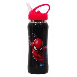 GIM Spiderman Stainless Steel Canteen 580 Ml 557-39238 5204549117198