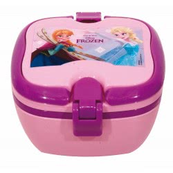 GIM Disney Frozen Lunch Box With Handles For Use In Microwave Oven 551-27266 5204549116887