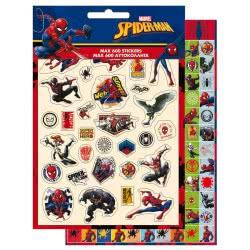 GIM Spiderman: Max 600 Αυτοκόλλητα 777-51479 5204549115828