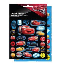 GIM Disney Pixar Cars 3 Max 600 Αυτοκόλλητα 772-16379 5204549105775