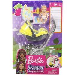 Mattel Barbie Skipper Babysitters INC Doll And Playset FXG94 / GFC18 887961756838