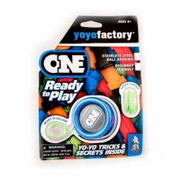 yoyo factory YO-YO One Ready To Play Blue 16302 4260243163023