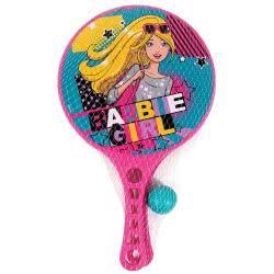 As company Barbie Σετ ρακέτες θαλάσσης Barbie Girl 5005-15928 5203068159283
