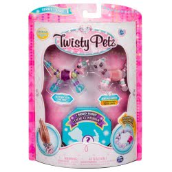 Spin Master Twisty Petz Βραχιολοζωάκια 3Τμχ - 6 Σχέδια 6044203 778988543764