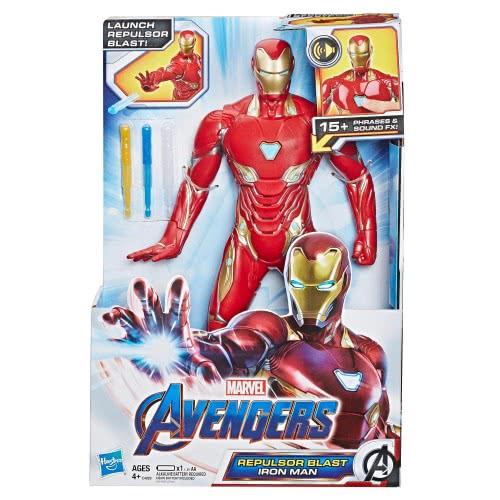 Hasbro Marvel Avengers: Endgame Repulsor Blast Iron Man E4929 | Toys