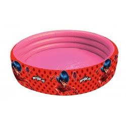GIM Inflatable Pool Miraculous Ladybug 100X30cm 870-91170 5204549117686